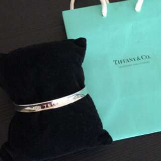Tiffany & Co 1837 silver bangle