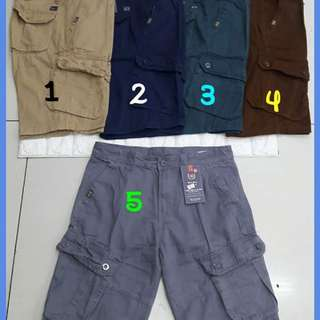 New Colors Cargo Shorts