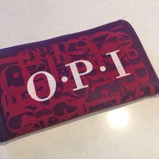 O.P.I 環保袋+化妝袋一set