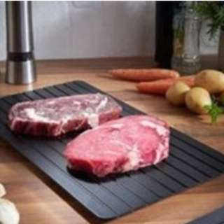 【🏮新年特選 現貨  快速9倍解凍板海鮮肉類牛排急速魔力解凍盤defrosting tray】