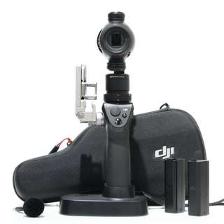 DJI Osmo Plus+ with 2 Extra Battery + Osmo Fleximic FM-15