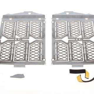 Cymarc BMW R1200GS LC/LC Adventure Radiator protectors (pair - silver)