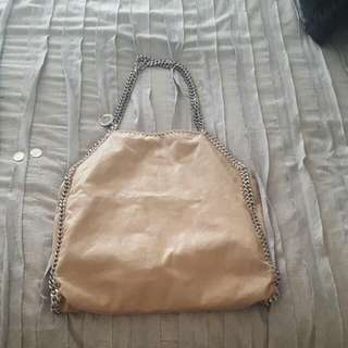 Stella McCartney falabella Beige Big