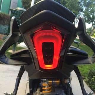 YZF R1M/R1 15 - 17 Smoked Tail light