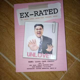 Ex-rated by Lloyd Cafe Cadena