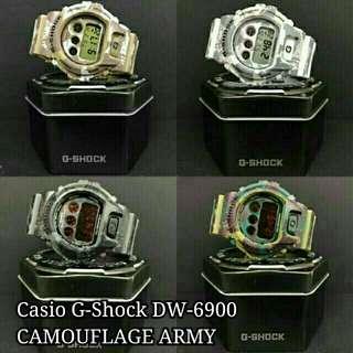 Casio G-Shock DW6900 CAMOUFLAGE ARMY