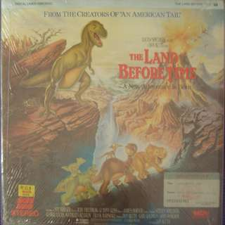 Laser Disc Dcumentary - The Land Before Time 1