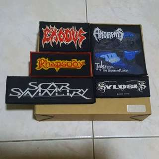 CHEAPEST 🤘Metal Band Patches