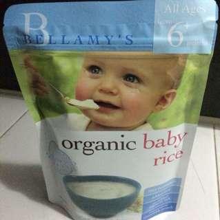 Bellamy organic Rice
