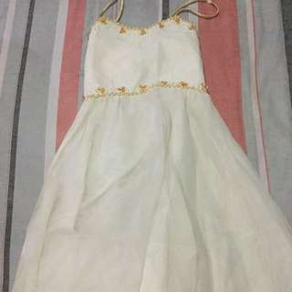 White Gown for Rent