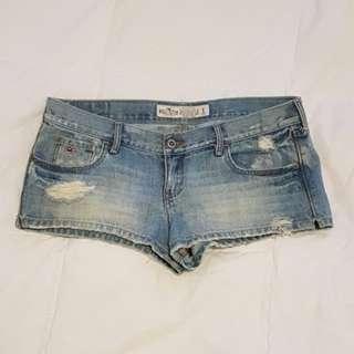Hollister Destroyed Jean Shorts