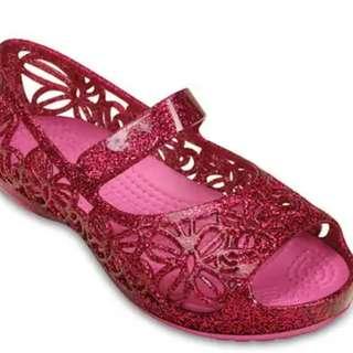 Crocs Isabella Glitter Flats