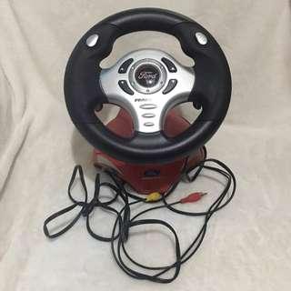 Ford Steering Wheel Vid Games