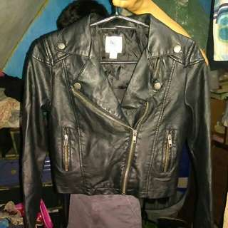 Leather jacket 10-12 yrs old