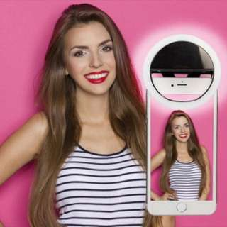 Mini Selfie Ring Light