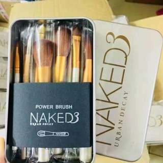 🌹※NAKED 3※12件套鐵盒裝化妝掃👩🏻🎨💕