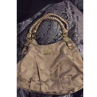Authentic Coach Madison bag