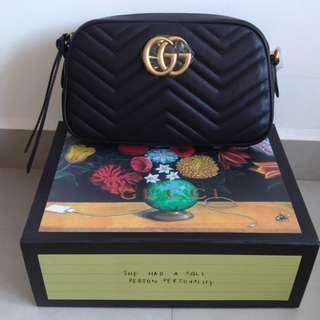 Gucci GG Marmont Shoulder Bag Black