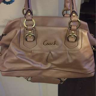 Coach small hand bag.