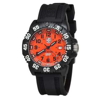 Luminox – LUMINOX SCOTT CASSELL SPECIAL COLLECTION LM3059SET Black Rubber Orange