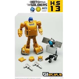 [Preorder] Mech Planet, Hot Soldiers HS-13 (G1 Goldbug)