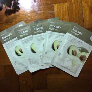 Face Masks from The Face Shop