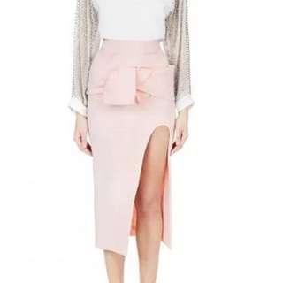Toni Maticevski Tate Wrap skirt (10) BNWOT