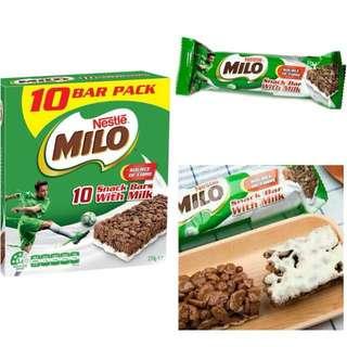 澳洲直送牛奶美綠早餐棒270g (10條)