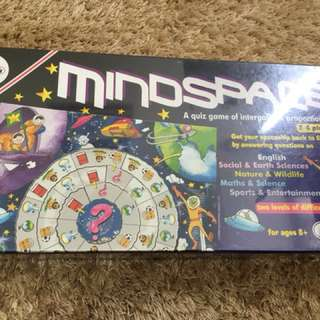 BNIB mindspace boardgame for kidd