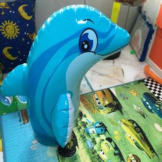 Moving out sales. Dolphin float