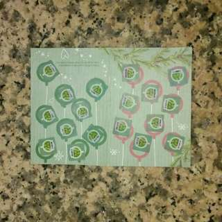Starbucks stickers (repriced)