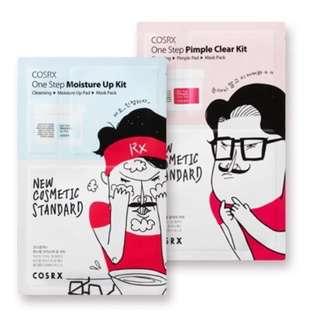 Cosrx One Step Moisturising/ Pimple Kit