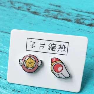INSTOCK Handmade Cardcaptor Sakura Earrings
