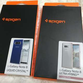 Spigen Pink Liquid Crystal Case Samsung Note8 Note 8