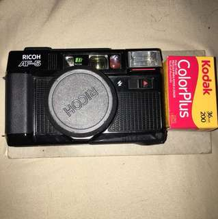 RICOH AF-5 FILM CAMERA w/ 2 colour film rolls