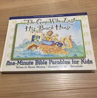 One Minute Bible Parables for Kids