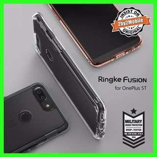 Original ringke fusion oneplus 5T