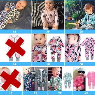 [READy STOCK‼️] Inspired Bonds Jumpsuit Wondersuit Sleepsuit