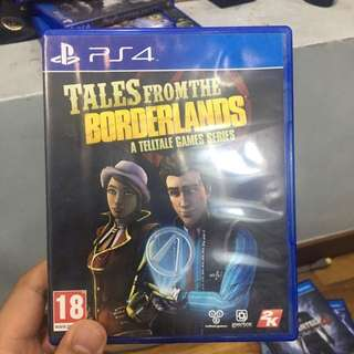 Tales from the borderlands PS4