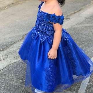 Kids elegant gown