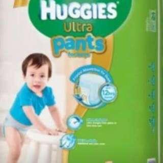 Huggies Ultra Pants,  L44 Boy
