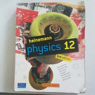Heinemann Physics year 12 - units 3 and 4