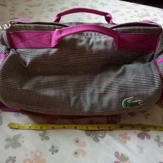 Authentic Lacoste Gym Bag (not so big)