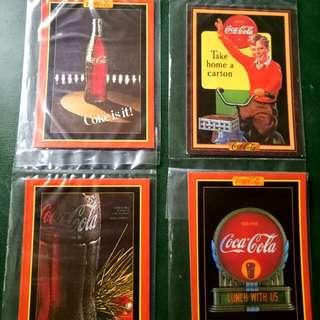 Vintage Coca Cola Trading Cards #1