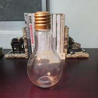 燈泡造型玻璃瓶