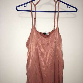 Pink dress from h&m