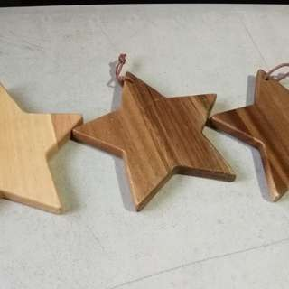 Wood star by paseo japan