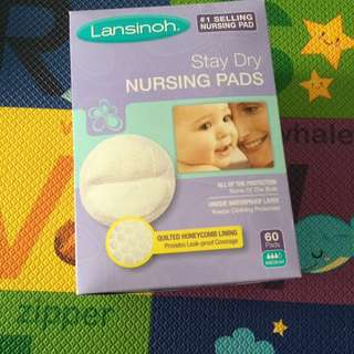 Brand new lansinoh nursing pad 60 piece