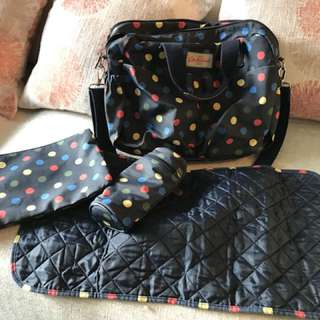 Pre loved Cath Kidson Diaper Bag