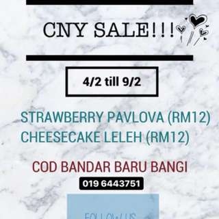 STRAWBERRY PAVLOVA & CHEESECAKE LELEH